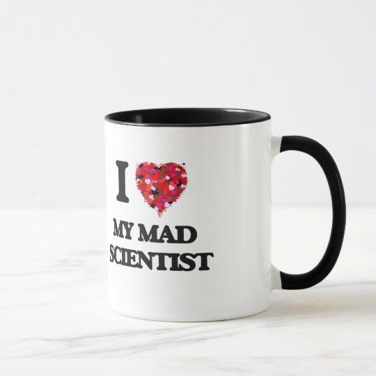 Liebe I mein wütender Wissenschaftler Tasse