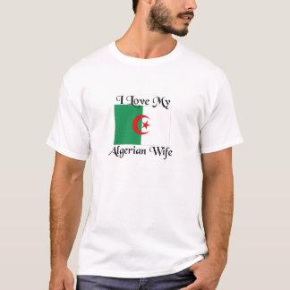 Liebe I meine algerische Ehefrau T-Shirt