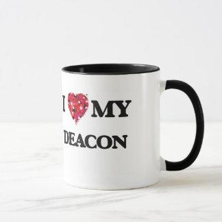 Liebe I meine Diakon Tasse