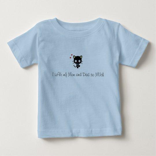 Liebe I meine Mamma und Vati soviel Baby T-shirt