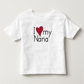 Liebe I meine Nana Kleinkind T-shirt