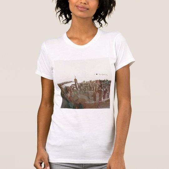 Liebe I New- York Cityt-shirt T-Shirt