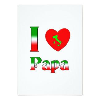 Liebe I Papa 12,7 X 17,8 Cm Einladungskarte
