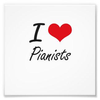 Liebe I Pianisten Fotodruck