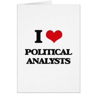 Liebe I politische Analytiker Karten