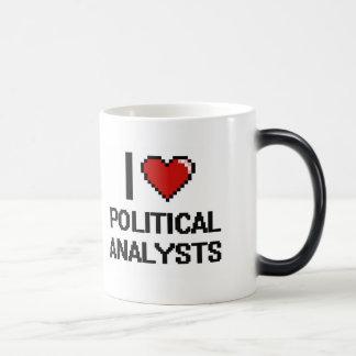 Liebe I politische Analytiker Verwandlungstasse