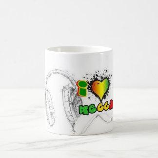 Liebe I Reggae Tee Tassen
