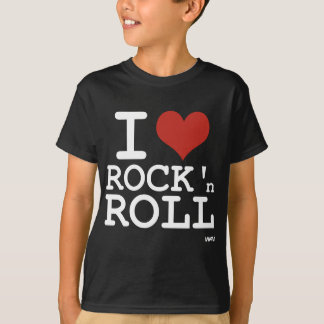 Liebe I Rock-and-Roll T-Shirt