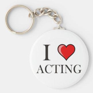 Liebe I Schauspiel Schlüsselanhänger