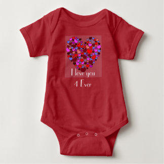 Liebe I Sie 4 überhaupt Baby Strampler