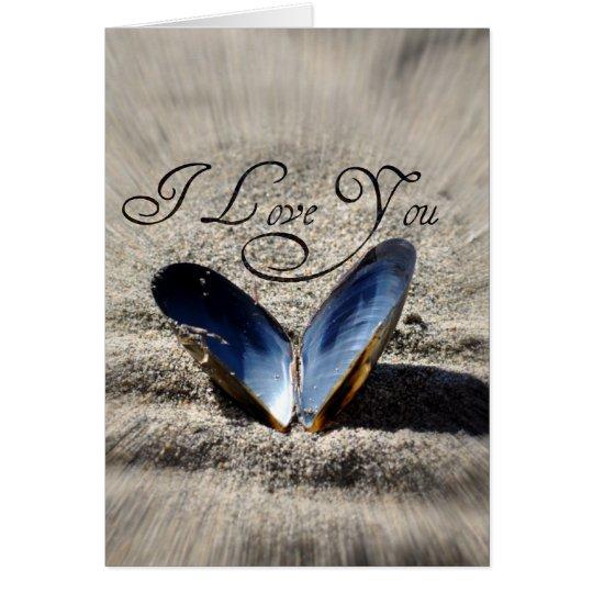 Liebe I Sie Grußkarte