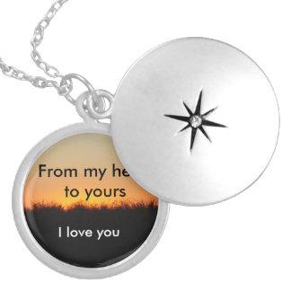 Liebe I Sie Halskette