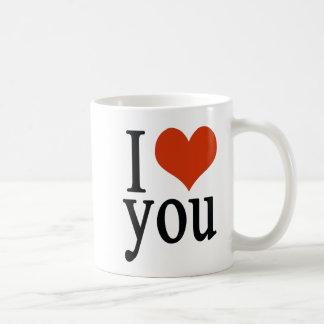 Liebe I Sie - Herz Kaffeetasse