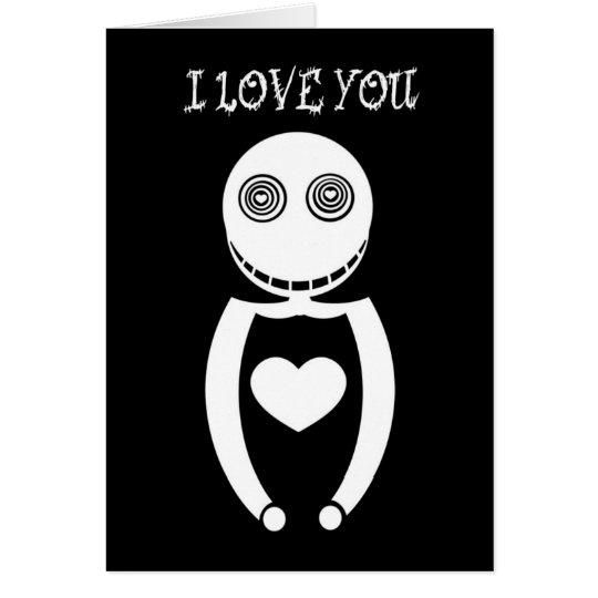 Liebe I Sie Karte