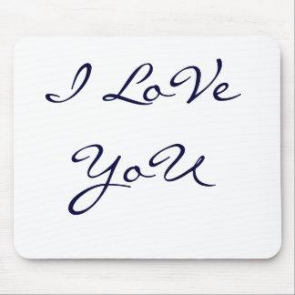 Liebe I Sie Mauspad
