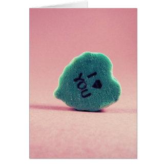 Liebe I Sie (Süßigkeit) Karte