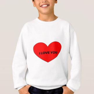 Liebe I Sie Sweatshirt