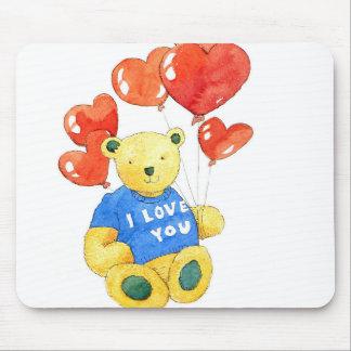 Liebe I tragen Sie - Ballon 2011 Mousepads