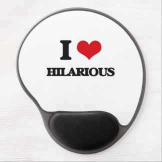 Liebe I unglaublich witzig Gel Mousepad