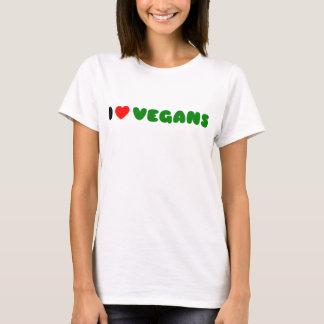 Liebe I Vegans T-Shirt