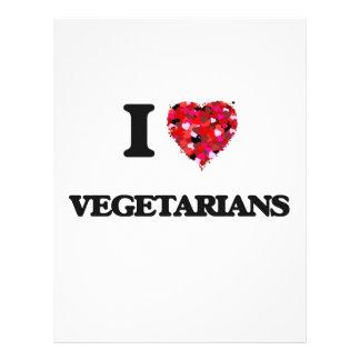 Liebe I Vegetarier 21,6 X 27,9 Cm Flyer