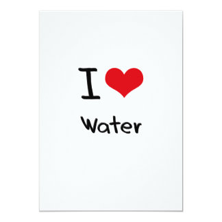 Liebe I Wasser 12,7 X 17,8 Cm Einladungskarte