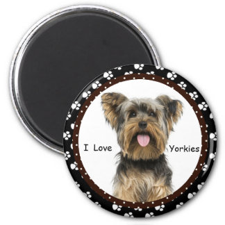 Liebe I Yorkies Magnet