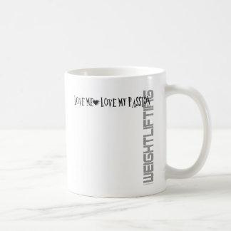 Liebe ich - Liebe meine Leidenschaft - Kaffeetasse