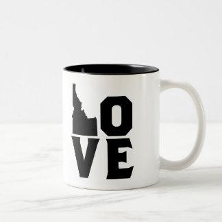 Liebe-Idaho-Tasse Zweifarbige Tasse