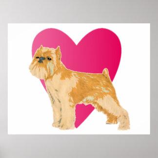 Liebe Ihr Hundedruck Plakate