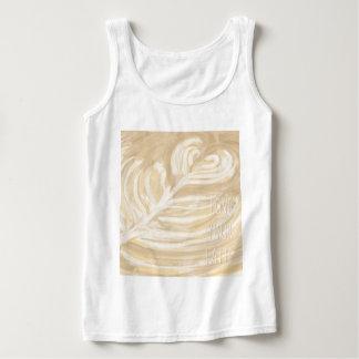 Liebe Ihre latte Kunst Tanktop