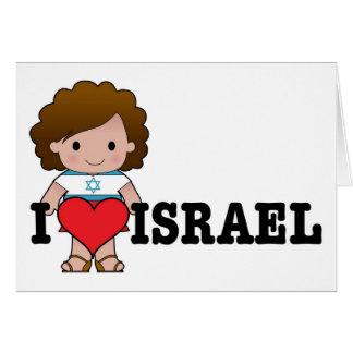 Liebe Israel Karte