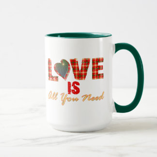 Liebe ist alle, die Sie Reise-Tasse benötigen Tasse