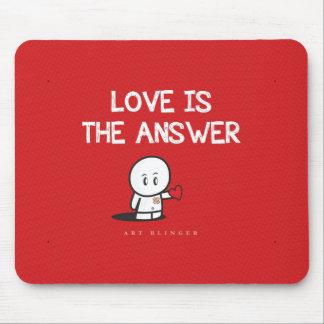 Liebe ist die Antwort Mauspads