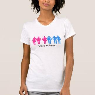 Liebe ist Liebe-Gay Pride T-Shirt