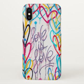 Liebe ist Liebe iPhone X Fall iPhone X Hülle
