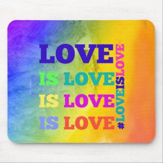 Liebe ist Liebe ist Liebe-Mausunterlage Mousepad