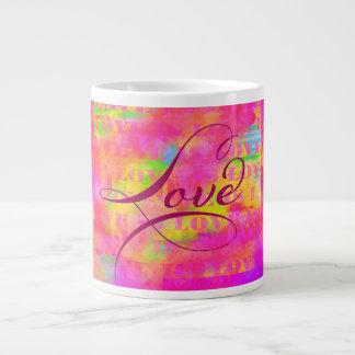 Liebe ist Liebe Jumbo-Tasse