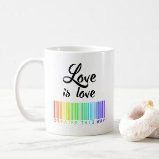 Liebe ist Liebe, Kaffee-, denTasse auf diese Weise Kaffeetasse