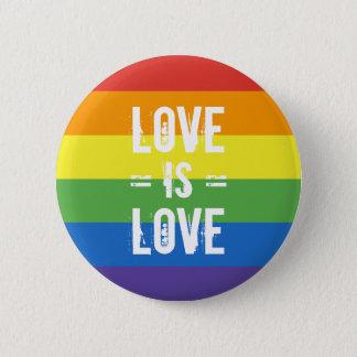 Liebe ist Liebe - Runder Button 5,1 Cm