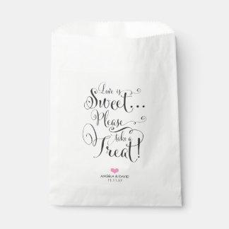 Liebe ist süße Bevorzugungs-Tasche Geschenktütchen