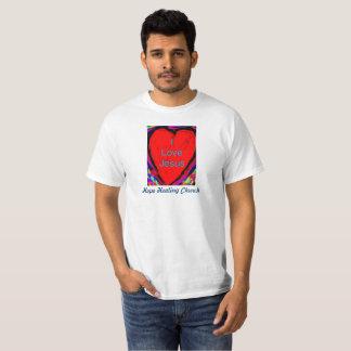 Liebe-Jesuss der Hoffnungs-christlicher T - Shirt