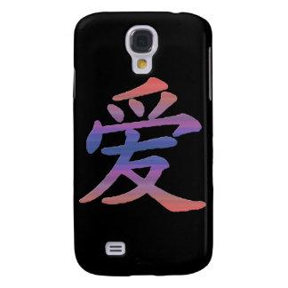 Liebe-Kanji 3G/3GS Galaxy S4 Hülle