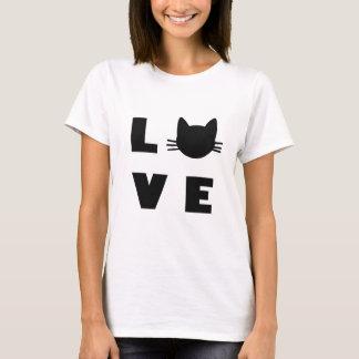 Liebe-Katzen T-Shirt
