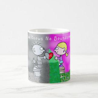 """""""Liebe kennt keine Grenz"""" Kaffee-Tasse Kaffeetasse"""