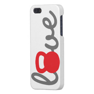 Liebe Kettlebell Rot Etui Fürs iPhone 5