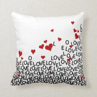 Liebe-Kissen des Valentines Tages Kissen
