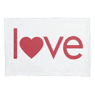 Liebe-Kissenbezug-Herz Kissen Bezug