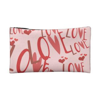 """""""Liebe"""" kleine kosmetische Tasche"""