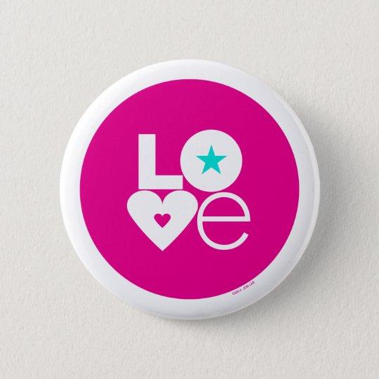 Liebe-Knopf Runder Button 5,7 Cm